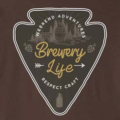 Brewery Life - Craft Beer Geek Wanderlust Shirt