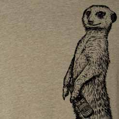 Beer Drinking Meerkat cute gift for meerkat lover cute meerkat tee timon and pumba