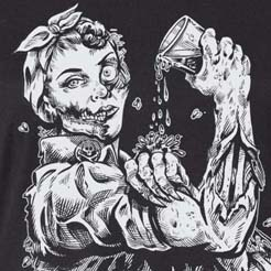 Rozie the Zombie Riveter Beer Brewer- Craft Beer Girl Gang
