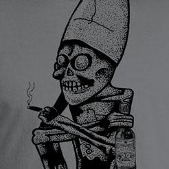 Cerveza de los Muertos shirt - Dead Guy smoke break beer - day of the dead - dia de los muertos, cinco de mayo