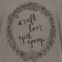 Craft Beer Girl Gang Hop Halo