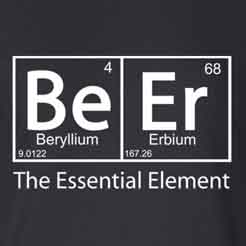 Beer the Essential Element Classic Homebrewer Beer Geek T-Shirt