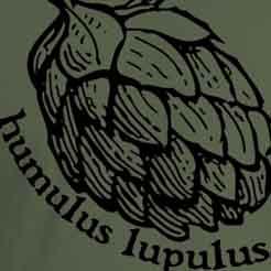 Humulus Lupulus Craft Beer Hops Brewing Brewer Graphic Tee