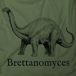 Brettanomyces Beer Drinking Dinosaur Jurassic Park Brew T-Shirt