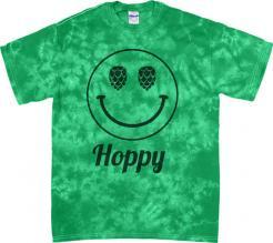 Hoppy Face Tie Dye Tee
