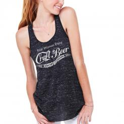 Real Women Enjoy Craft Beer Flowy Tank Top