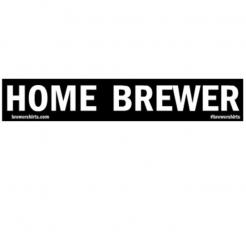 Home Brewer Sticker
