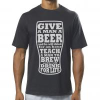 Teach a Man to Brew T-shirt