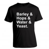 Barley & Hops & Water & Yeast T-Shirt