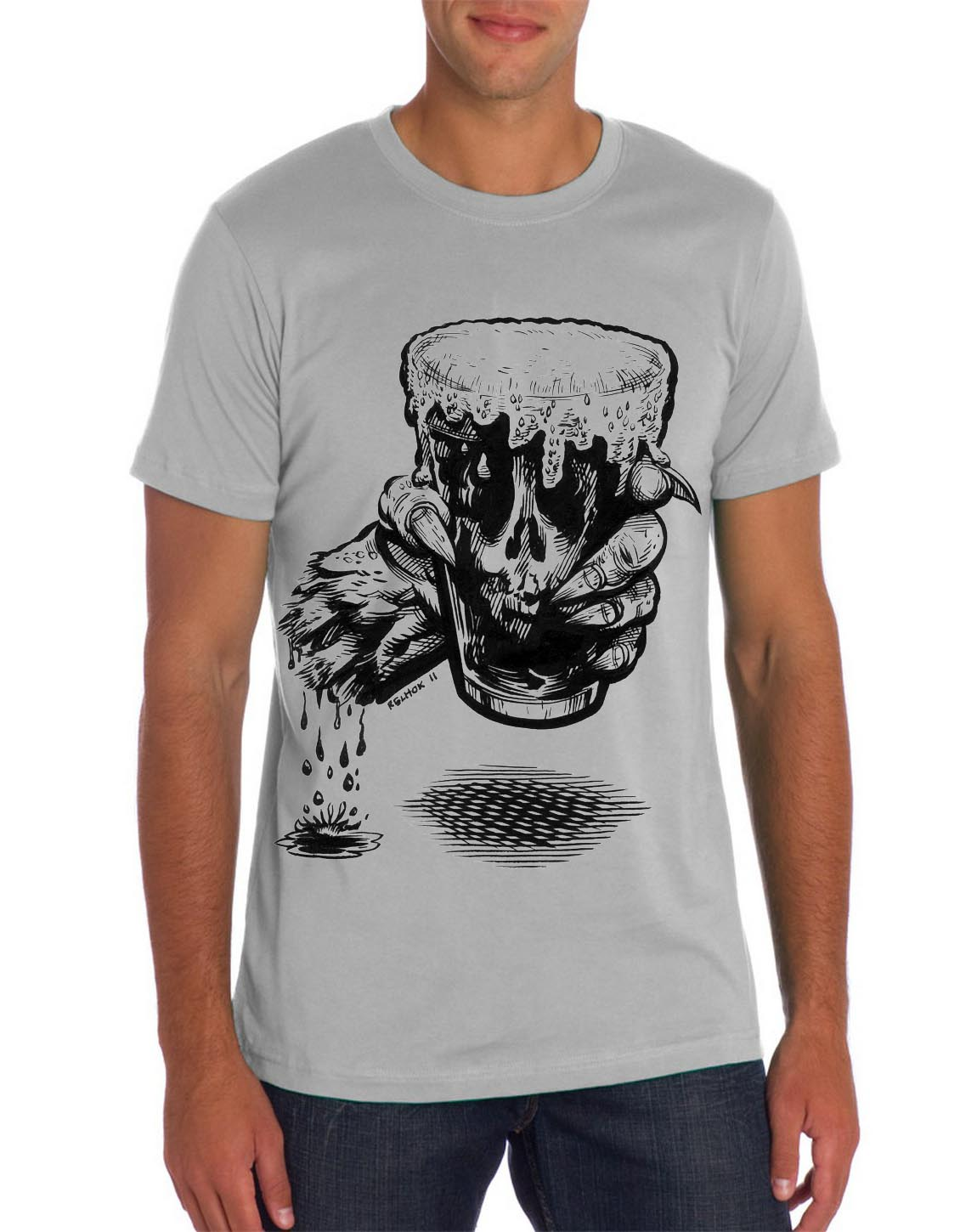 Zombie Beer Graphic Tee