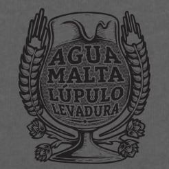 Agua Malta Lupulo Levadura Graphic Tee