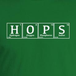 Hops Element Periodic Table T-Shirt