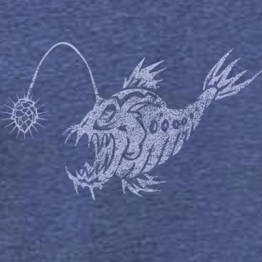 Craft Beer Anglerfish Graphic Tee