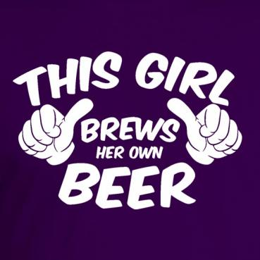 This Girl Brews Her Own Beer