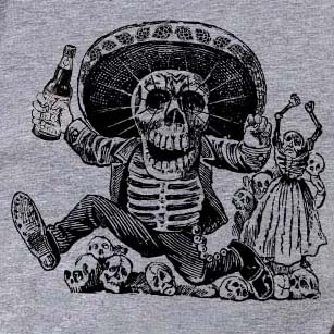 Day of the Dead Women's Triblend Tee