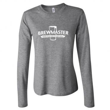 Brewmaster Womens Long Sleeve Tee