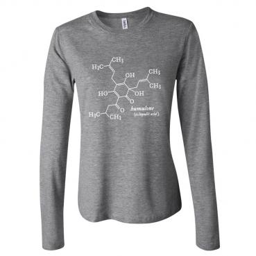 Humulone Womens Long Sleeve Tee