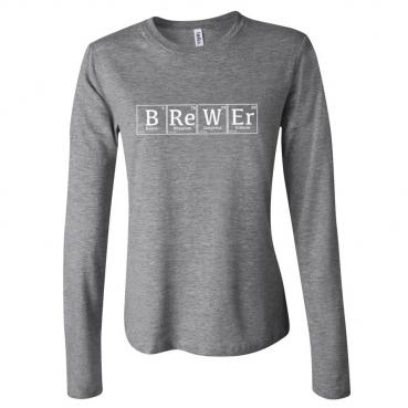 Periodic Brewer Womens Long Sleeve Tee