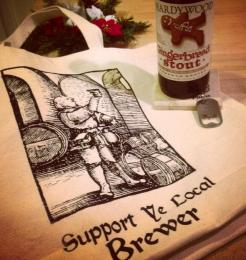 Support Ye Local Brewer Shopping Bag