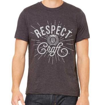 Respect Craft Dark Heather Graphic Tee
