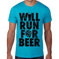 Will Run for Beer T-Shirt
