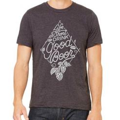 Drink Good Beer Graphic Tee