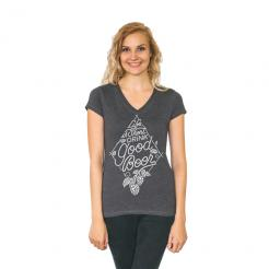 Drink Good Beer Women's V-Neck Graphic Tee