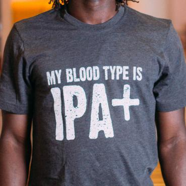 My Blood Type is IPA+ Graphic Tee