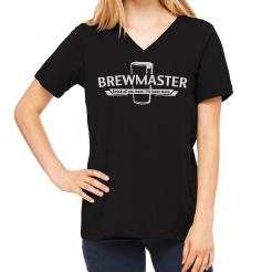 Brewmaster Women's V-Neck T-Shirt