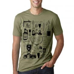 Craft Beer Collage by Melanie Chadwick Graphic Tee