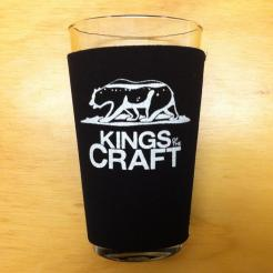 Kings of the Craft Pint Glass Koozie