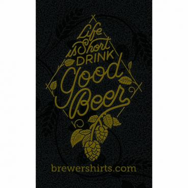 Drink Good Beer Sticker