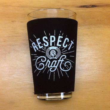 Respect Craft Neoprene Pint Glass Koozie