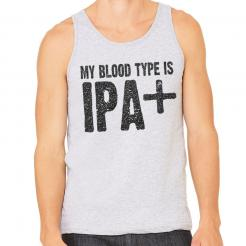 My Blood Type is IPA+ Mens Tank Top