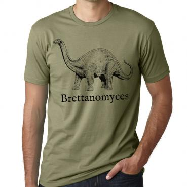 Brettanomyces Brewer Dinosaur Graphic Tee