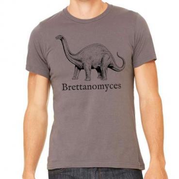 Brettanomyces Brewer Dinosaur Graphic Tee