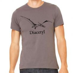 Diacetyl Brewer Dinosaur Graphic Tee