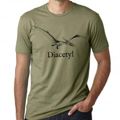 Diacetyl Brewer Dinosaur Graphic Tee