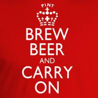 Brew Beer and Carry On T-Shirt