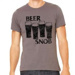 Beer Snob Black Flag Graphic Tee