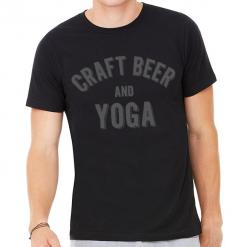 Craft Beer and Yoga T-Shirt