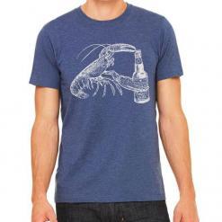 Beer Drinking Lobster T-Shirt