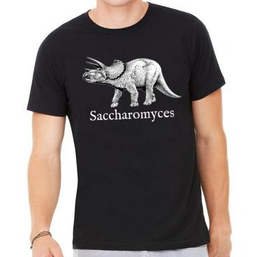 Saccharomyces Brewer Dinosaur Graphic Tee