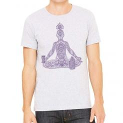 Chakras Craft Beer Yoga Athletic Graphic Tee