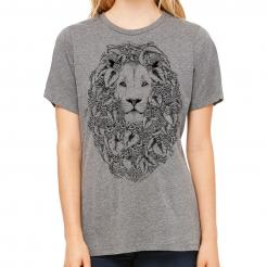 Craft Beer Lion Missy Triblend Tee