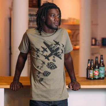 The original Hop Bomber Graphic Tee