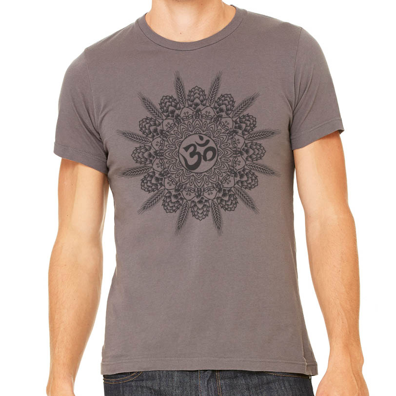 Mandala craft beer graphic t shirt for Craft brewery t shirts