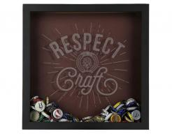 Respect Craft Beer Shadow Box