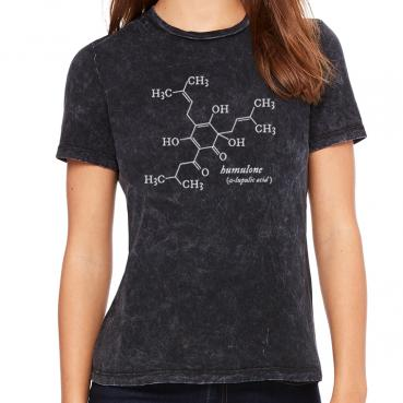Humulone Molecule Women's Crew T-Shirt