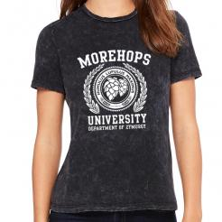 Morehops University Women's Crew Tee